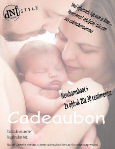cadeaubon newbornshoot
